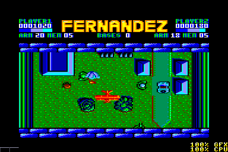screenshot of the Amstrad CPC game Fernandez must die by GameBase CPC