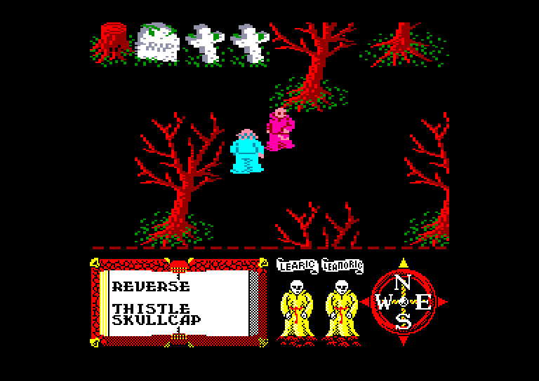 screenshot of the Amstrad CPC game Feud by GameBase CPC
