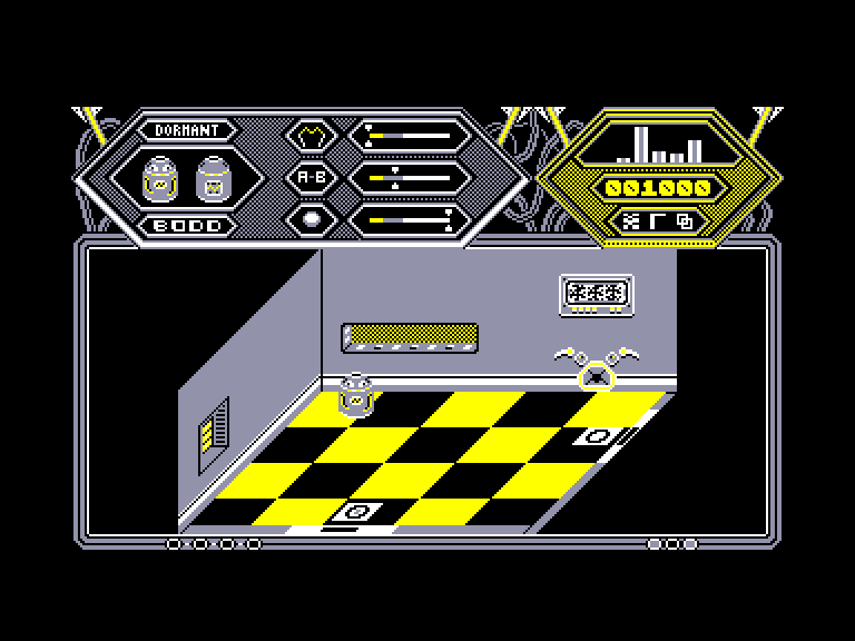 screenshot of the Amstrad CPC game Fifth quadrant (the) by GameBase CPC