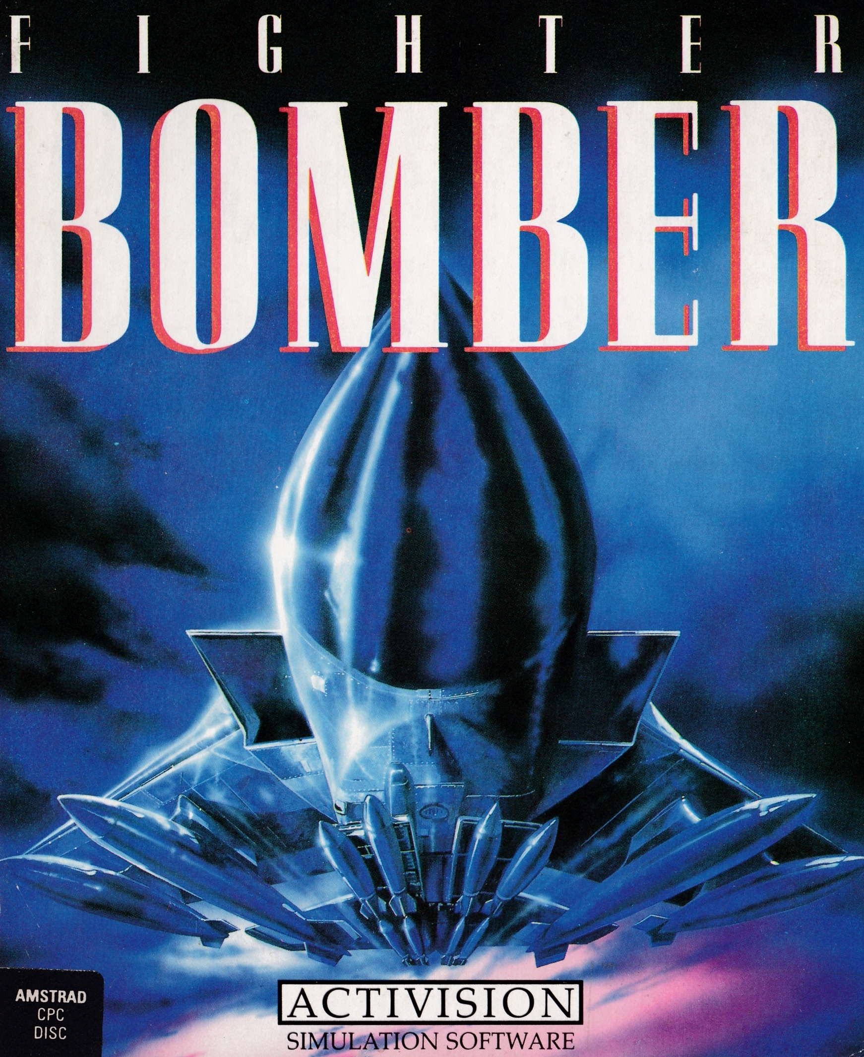 cover of the Amstrad CPC game Fighter Bomber  by GameBase CPC