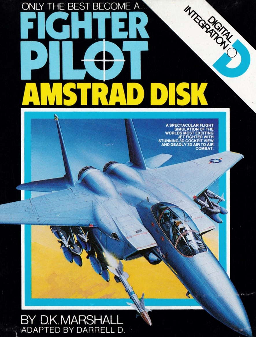 cover of the Amstrad CPC game Fighter Pilot  by GameBase CPC
