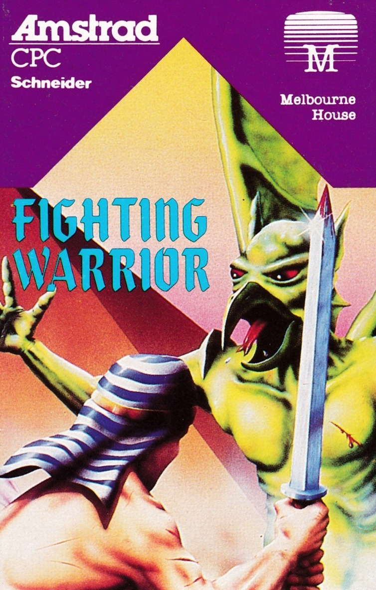 cover of the Amstrad CPC game Fighting Warrior  by GameBase CPC