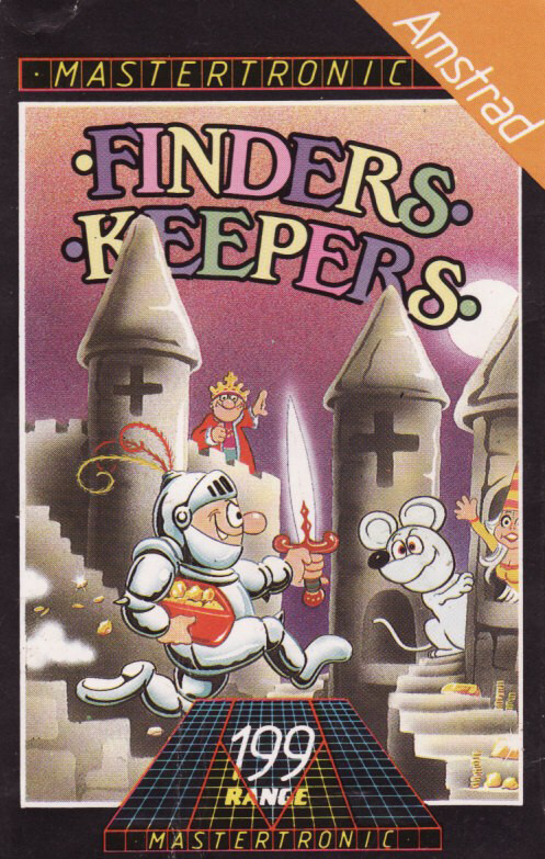 cover of the Amstrad CPC game Finders Keepers  by GameBase CPC
