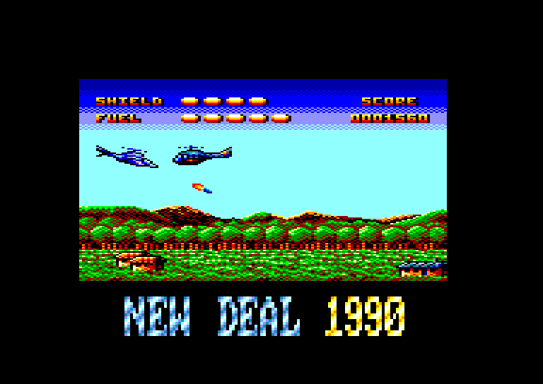 screenshot of the Amstrad CPC game Fire ! by GameBase CPC