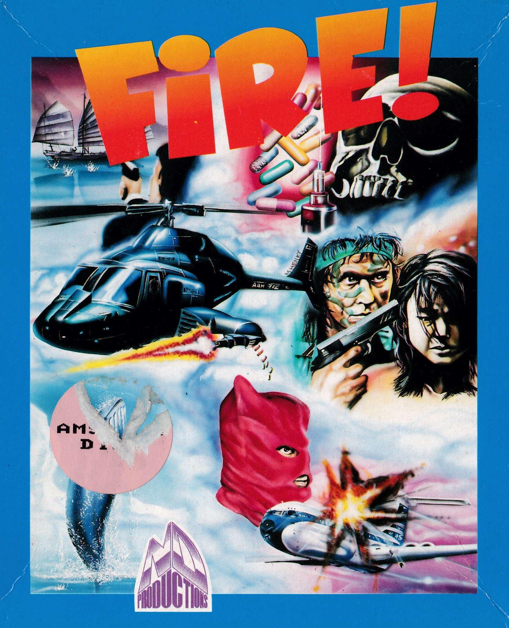 cover of the Amstrad CPC game Fire !  by GameBase CPC