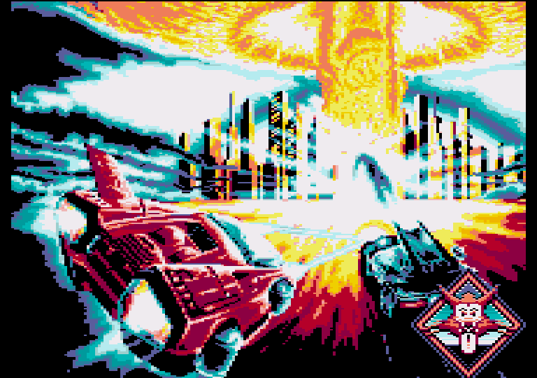 screenshot of the Amstrad CPC game Fire and Forget II [CPC+] by GameBase CPC