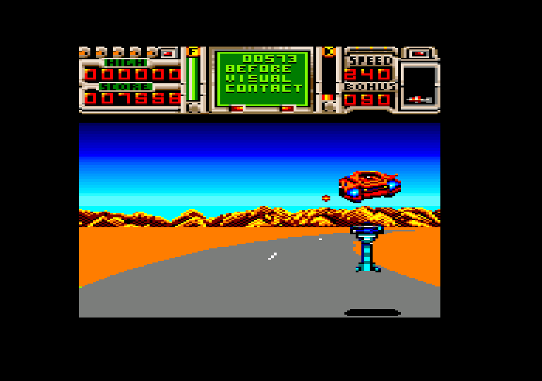 screenshot of the Amstrad CPC game Fire & Forget II [CPC+] by GameBase CPC