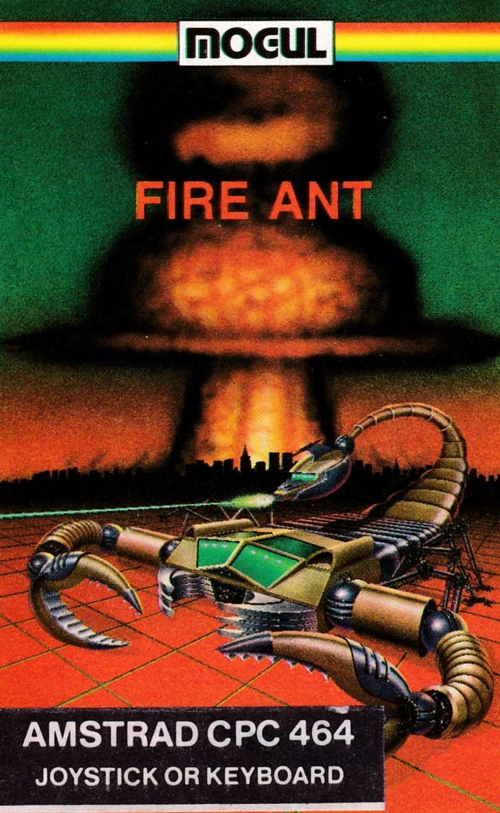 cover of the Amstrad CPC game Fire Ant  by GameBase CPC