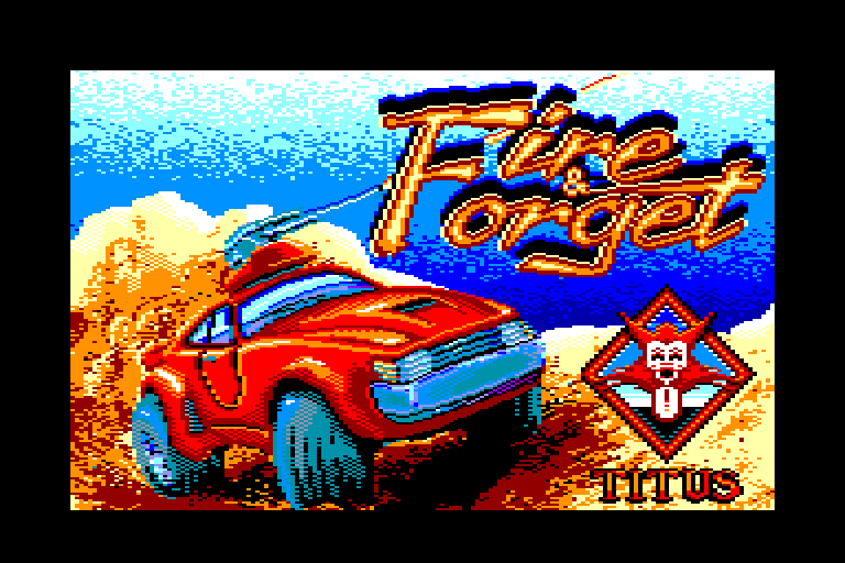 screenshot of the Amstrad CPC game Fire and Forget by GameBase CPC