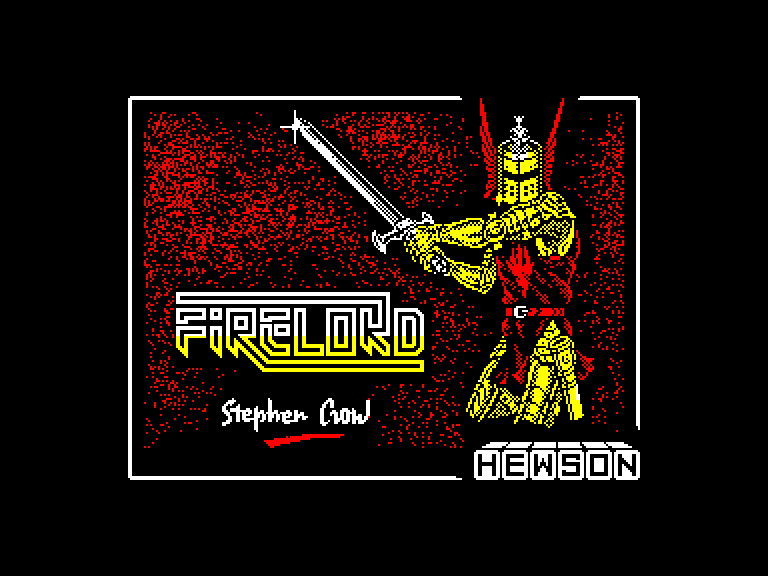screenshot of the Amstrad CPC game Firelord by GameBase CPC
