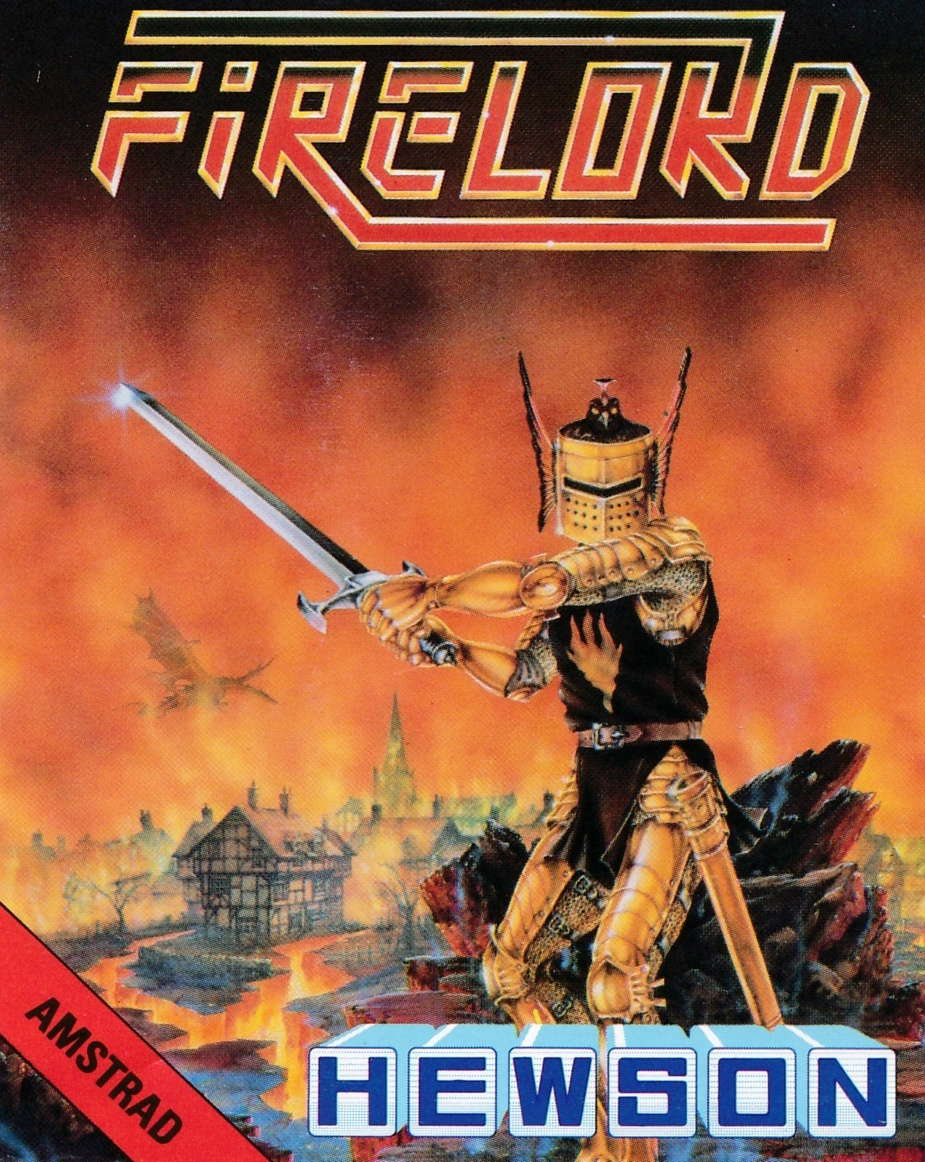 cover of the Amstrad CPC game Firelord  by GameBase CPC