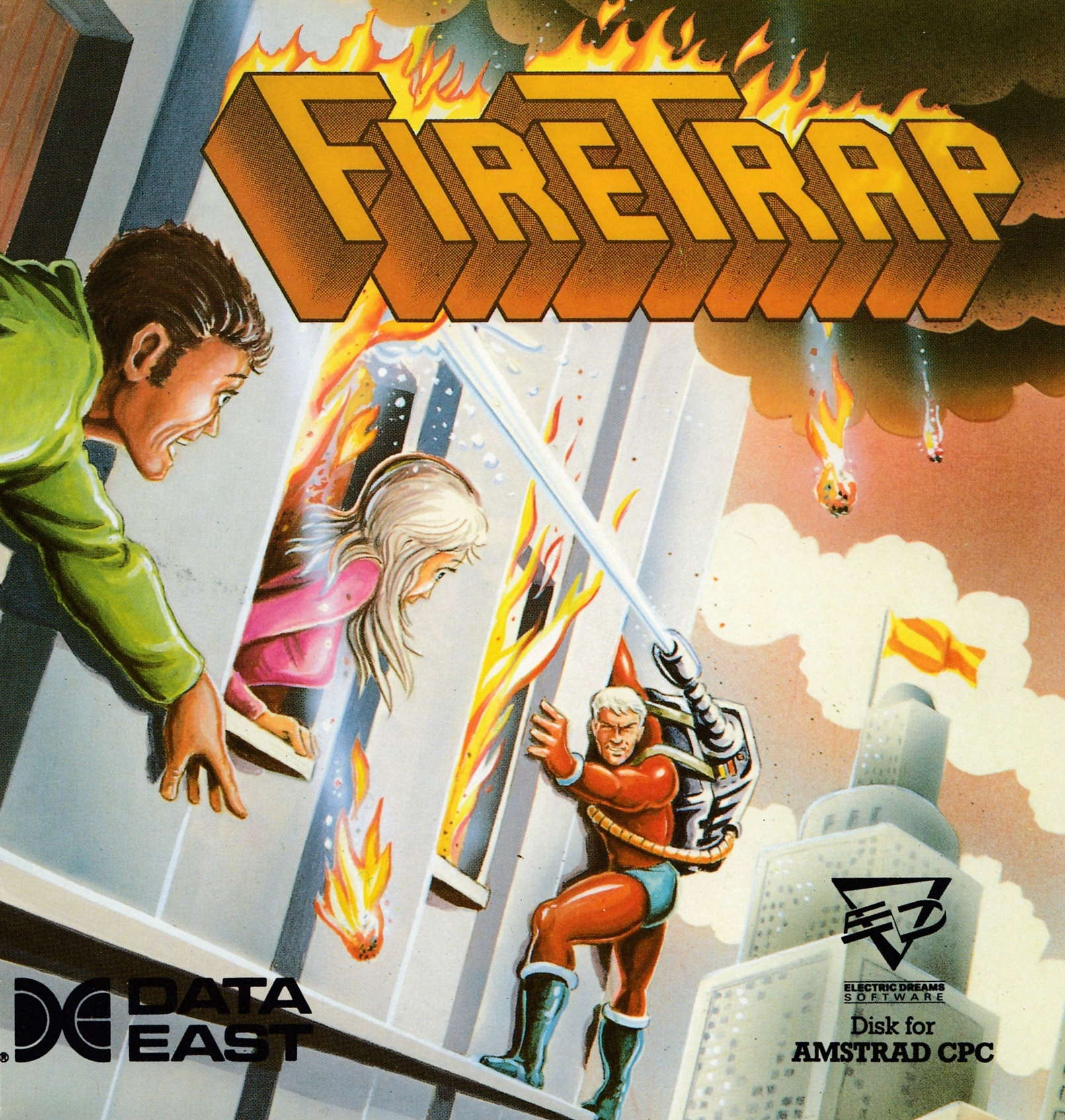 cover of the Amstrad CPC game Firetrap  by GameBase CPC