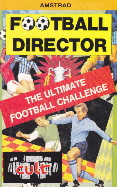 screenshot of the Amstrad CPC game Football director by GameBase CPC
