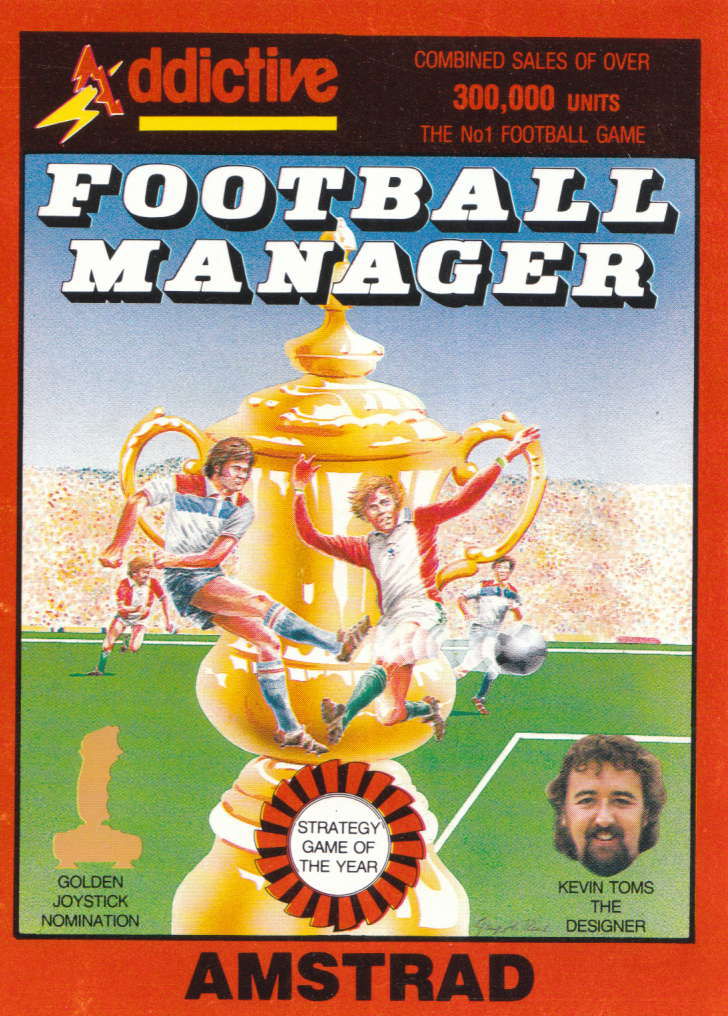 screenshot of the Amstrad CPC game Football Manager by GameBase CPC