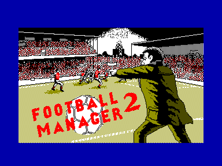 screenshot of the Amstrad CPC game Football manager 2 by GameBase CPC