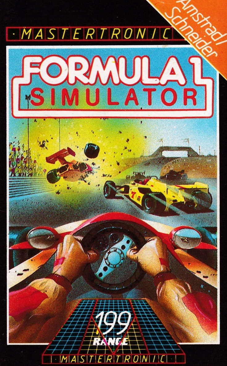 cover of the Amstrad CPC game Formula 1 Simulator  by GameBase CPC