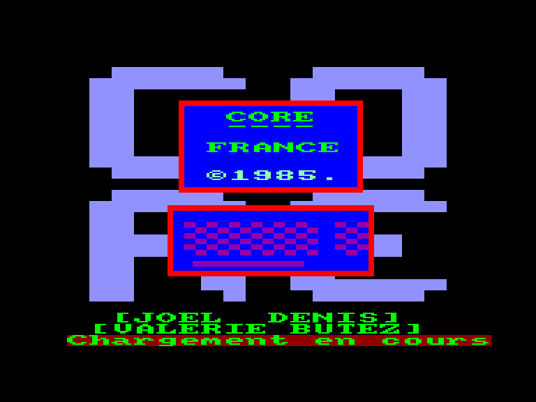 screenshot of the Amstrad CPC game France by GameBase CPC
