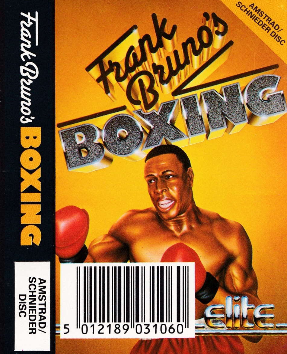 cover of the Amstrad CPC game Frank Bruno's Boxing  by GameBase CPC