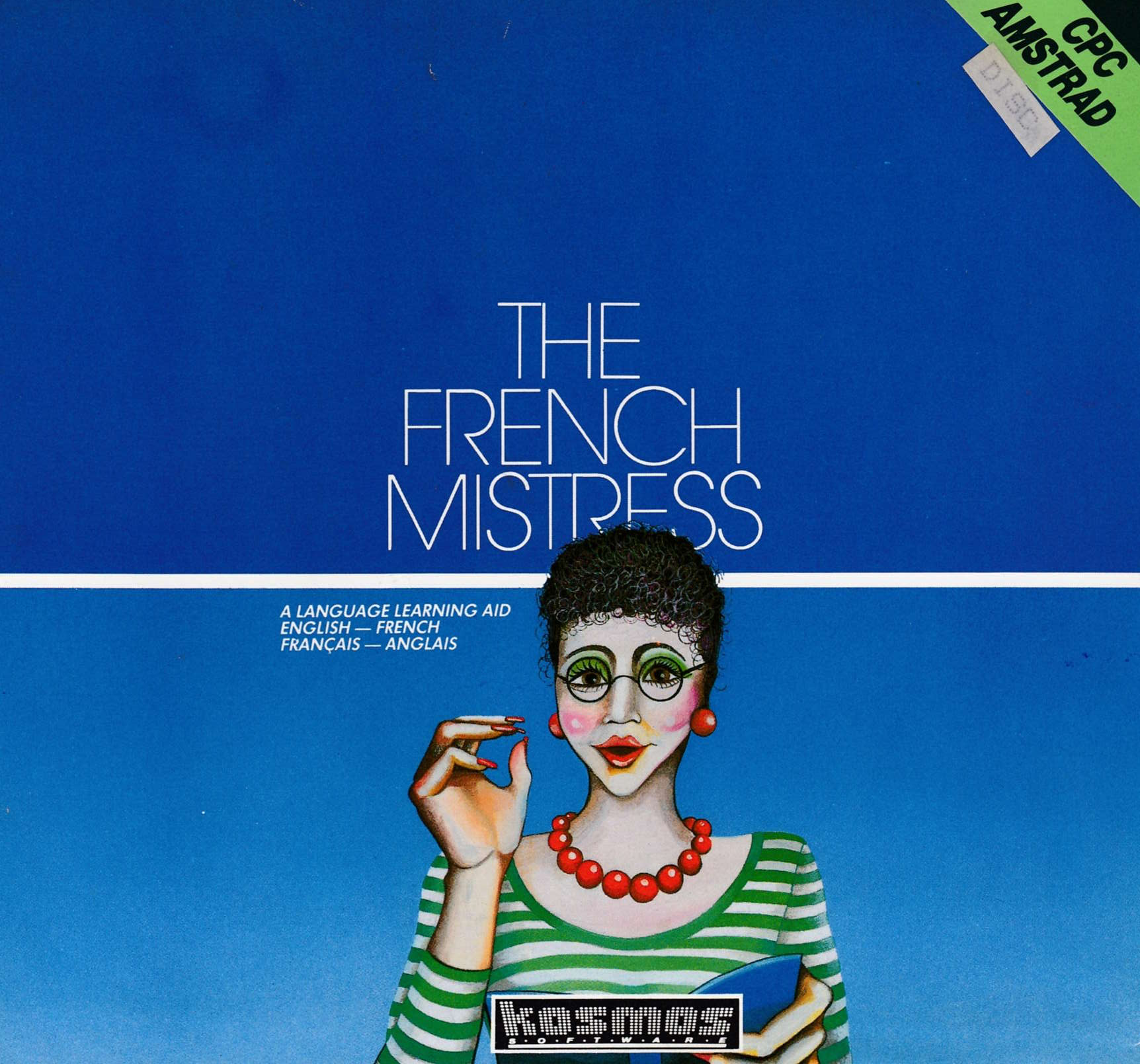 screenshot of the Amstrad CPC game French Mistress (the) by GameBase CPC
