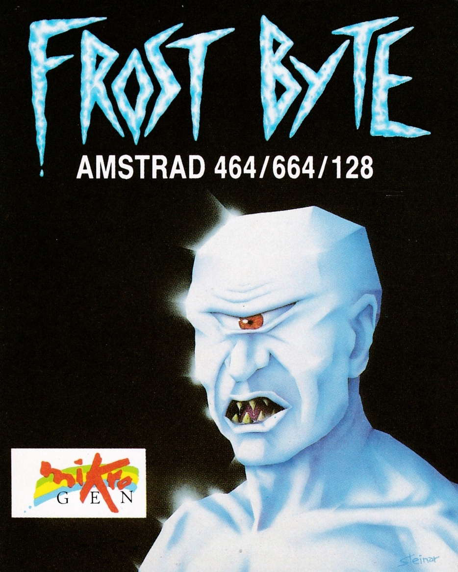 cover of the Amstrad CPC game Frost Byte  by GameBase CPC