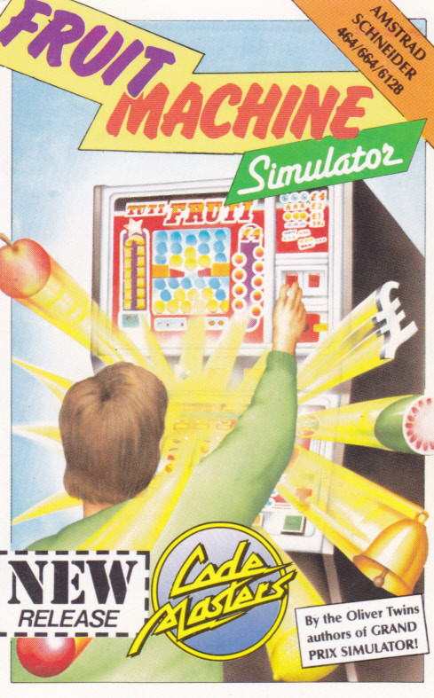screenshot of the Amstrad CPC game Fruit Machine Simulator by GameBase CPC