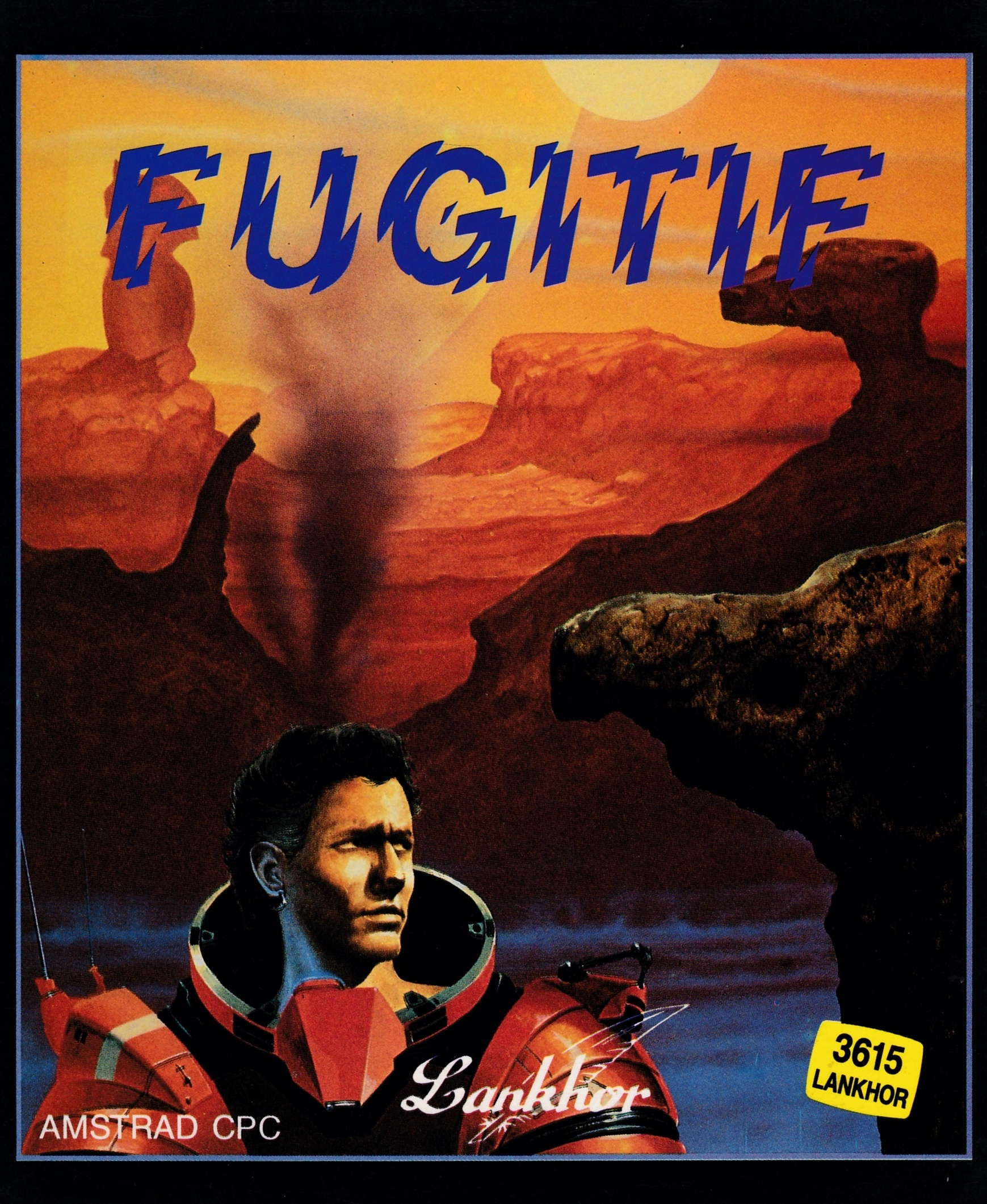 cover of the Amstrad CPC game Fugitif  by GameBase CPC