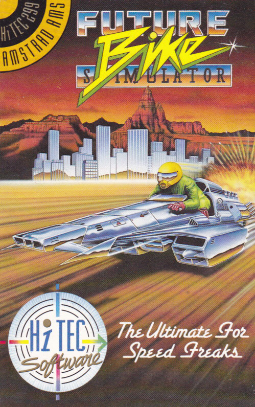 cover of the Amstrad CPC game Future Bike Simulator  by GameBase CPC
