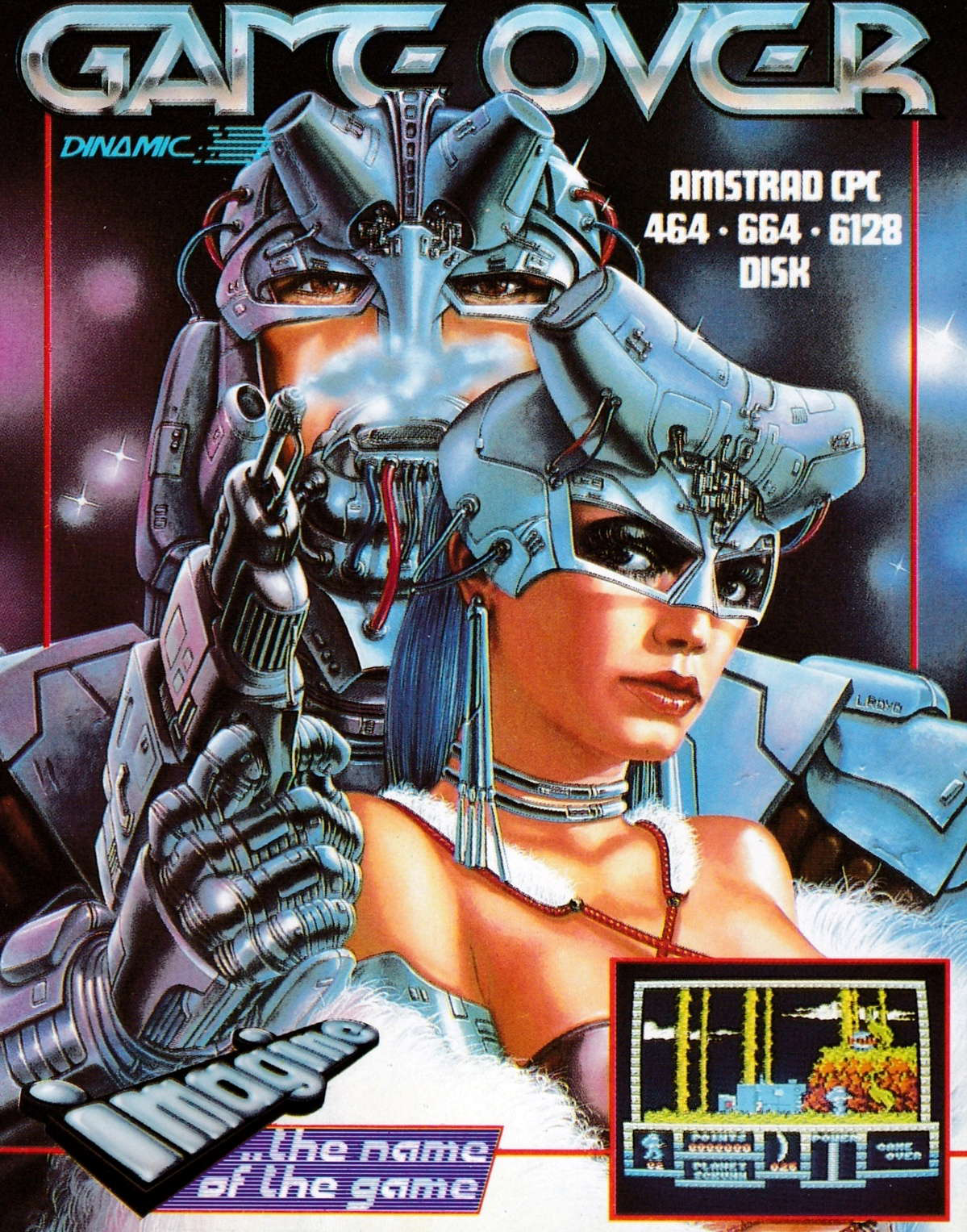cover of the Amstrad CPC game Game Over  by GameBase CPC