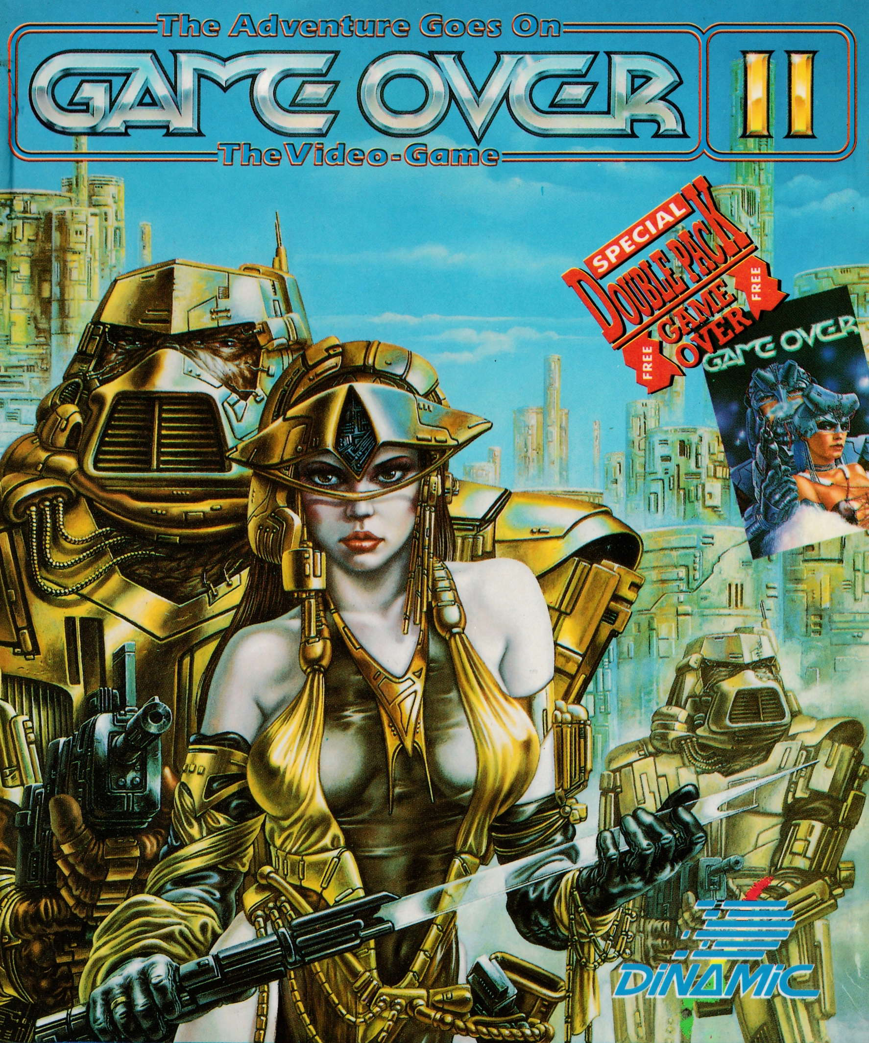 cover of the Amstrad CPC game Game Over II  by GameBase CPC