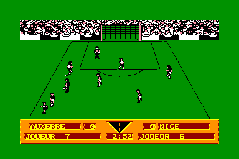 screenshot of the Amstrad CPC game Gazza's super soccer by GameBase CPC