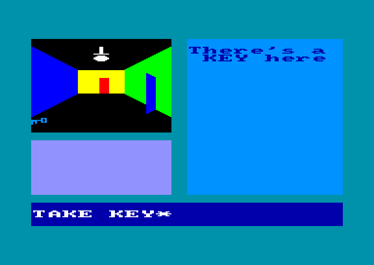 screenshot of the Amstrad CPC game Gems of stradus by GameBase CPC