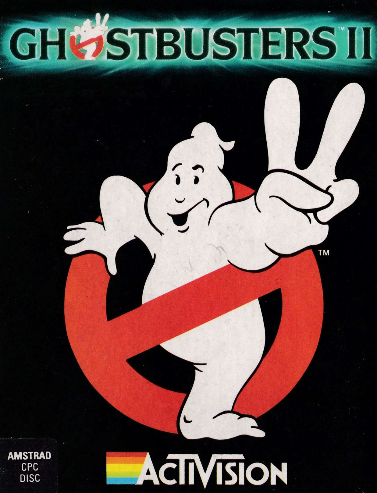 screenshot of the Amstrad CPC game Ghostbusters II by GameBase CPC