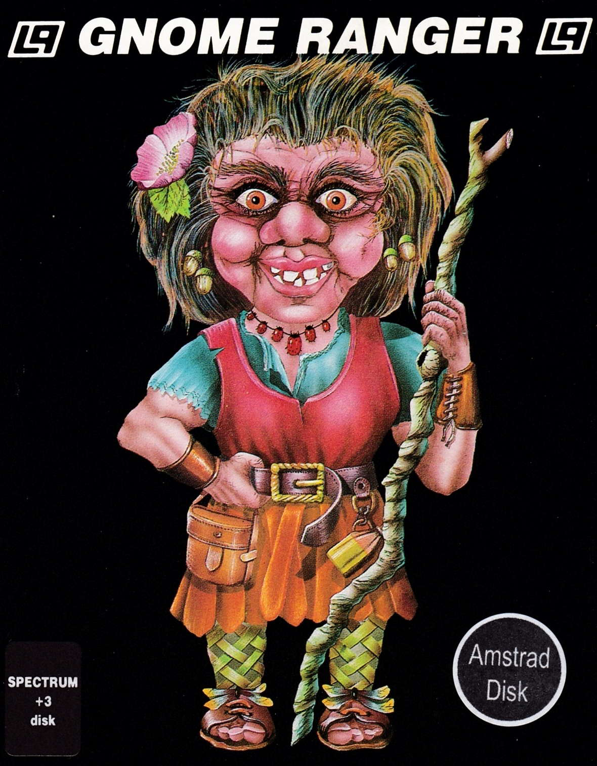 cover of the Amstrad CPC game Gnome Ranger  by GameBase CPC