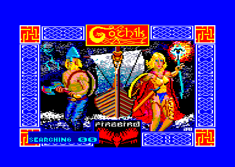 screenshot of the Amstrad CPC game Gothik by GameBase CPC