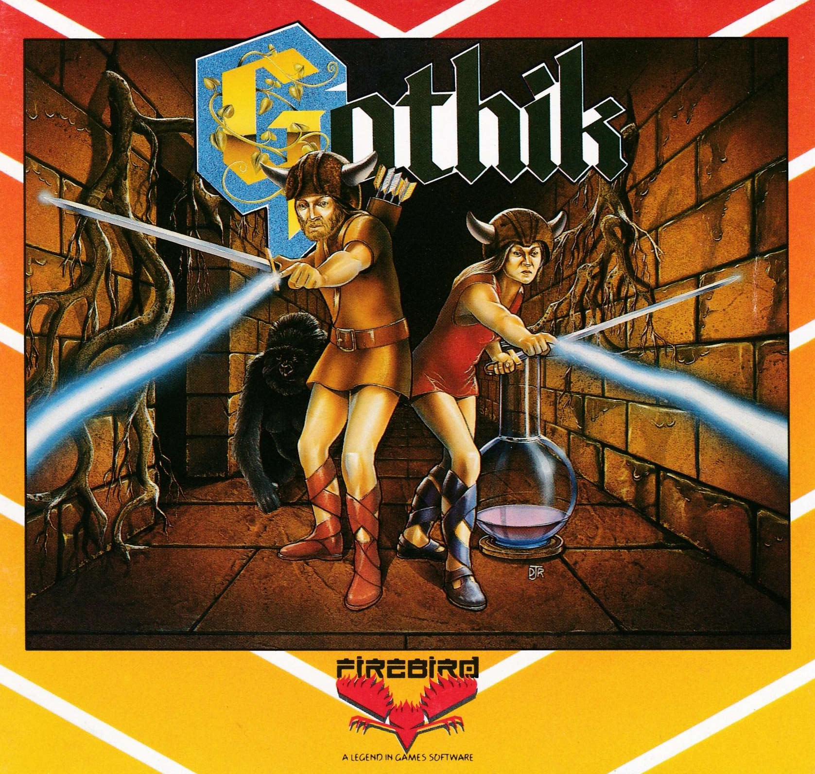cover of the Amstrad CPC game Gothik  by GameBase CPC