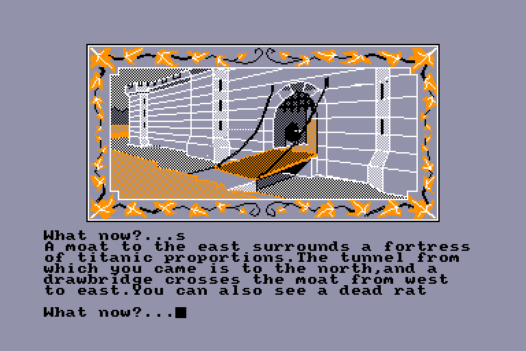 screenshot of the Amstrad CPC game Graphic Adventure Creator (the) by GameBase CPC