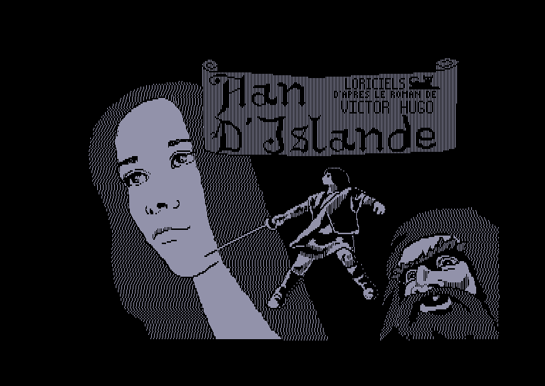 screenshot of the Amstrad CPC game Han d'Islande by GameBase CPC