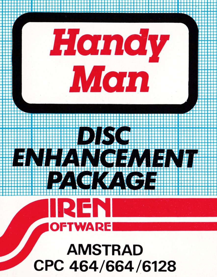 cover of the Amstrad CPC game Handy Man  by GameBase CPC