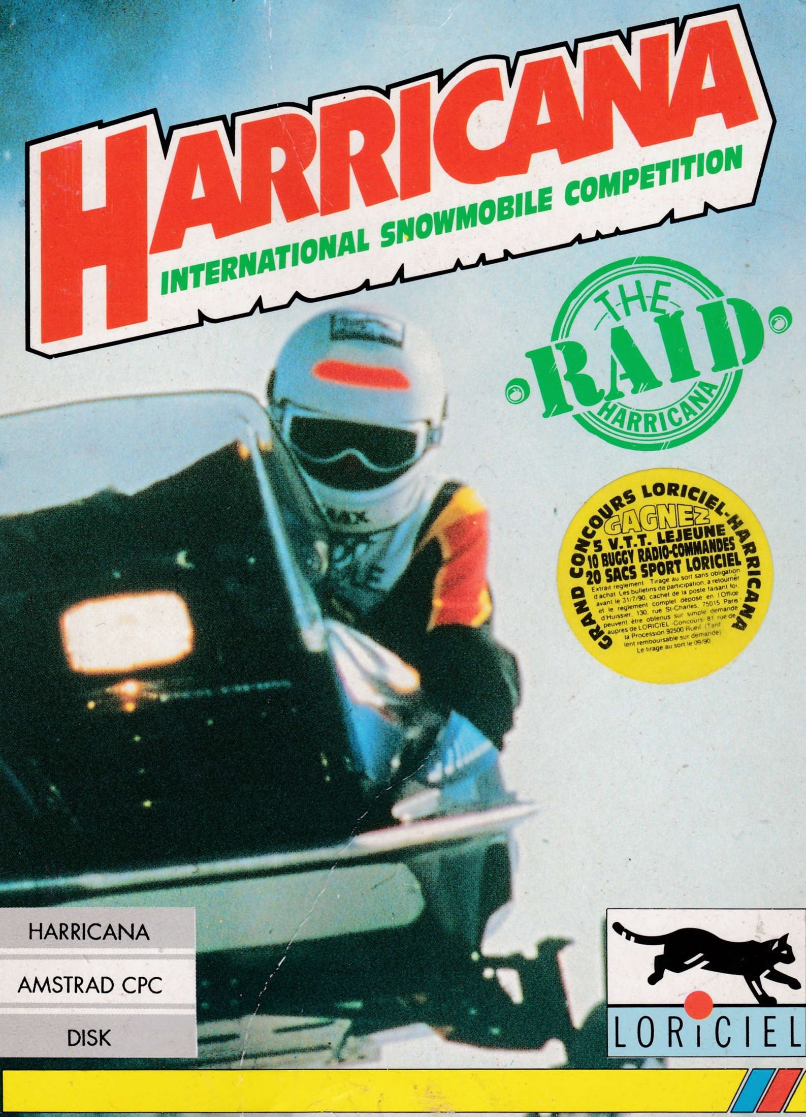 cover of the Amstrad CPC game Harricana  by GameBase CPC