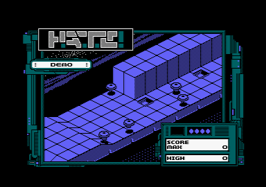 screenshot of the Amstrad CPC game Hate by GameBase CPC