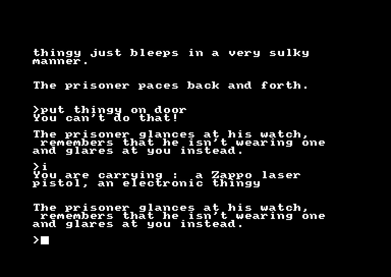 screenshot of the Amstrad CPC game Help Inc. by GameBase CPC