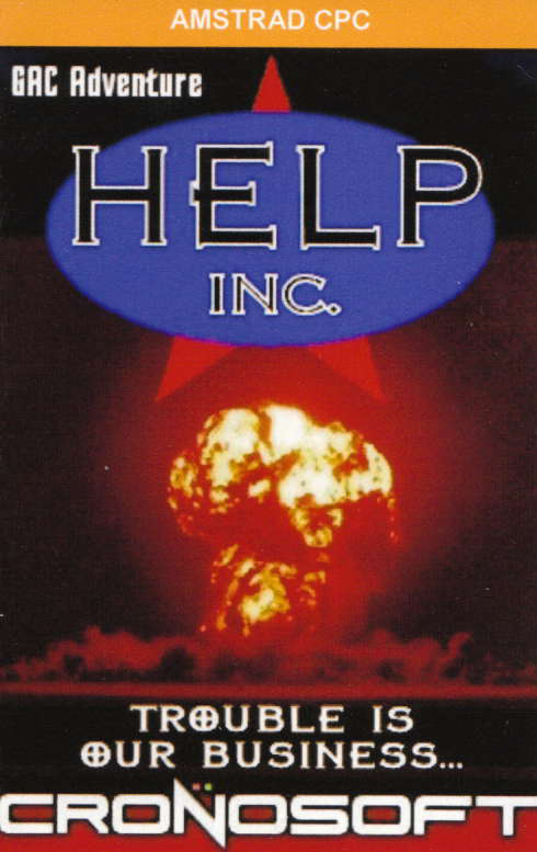 cover of the Amstrad CPC game Help Inc.  by GameBase CPC