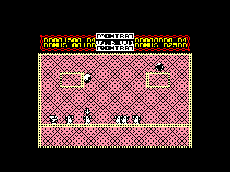 screenshot of the Amstrad CPC game Helter skelter by GameBase CPC