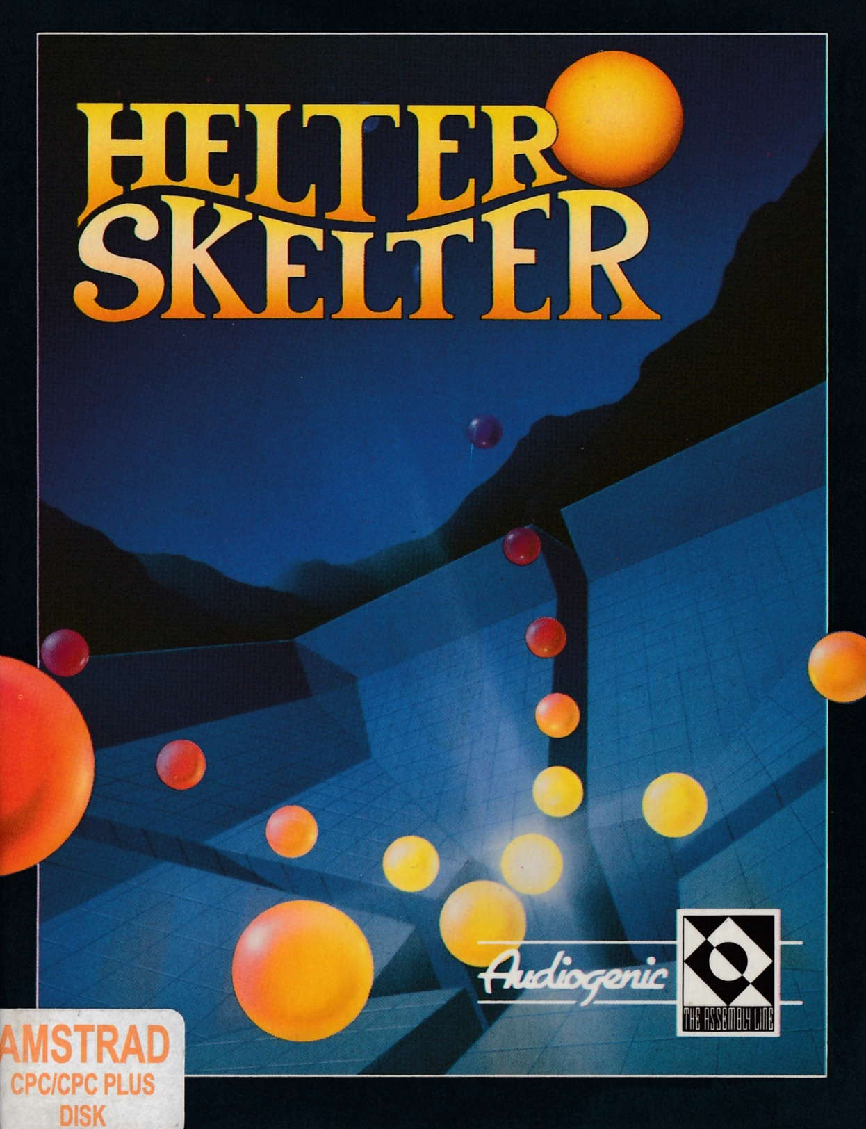 cover of the Amstrad CPC game Helter Skelter  by GameBase CPC