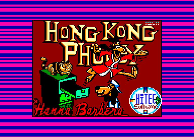 screenshot of the Amstrad CPC game Hong kong phooey by GameBase CPC