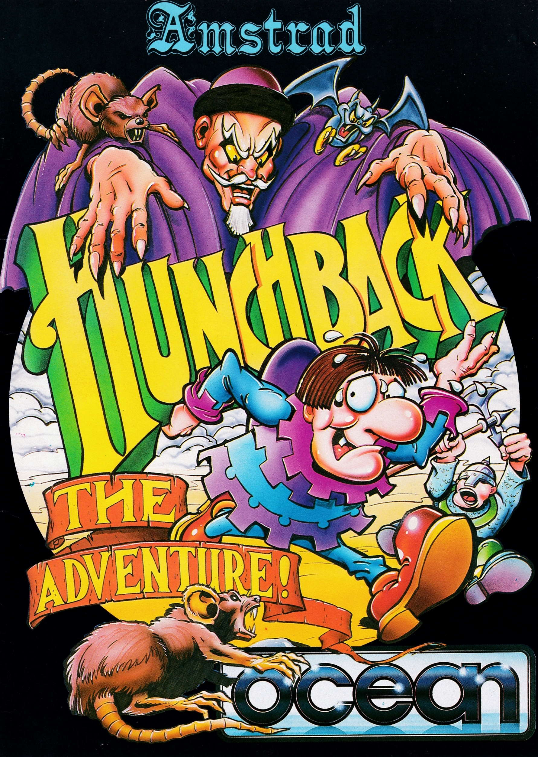 cover of the Amstrad CPC game Hunchback - The Adventure  by GameBase CPC