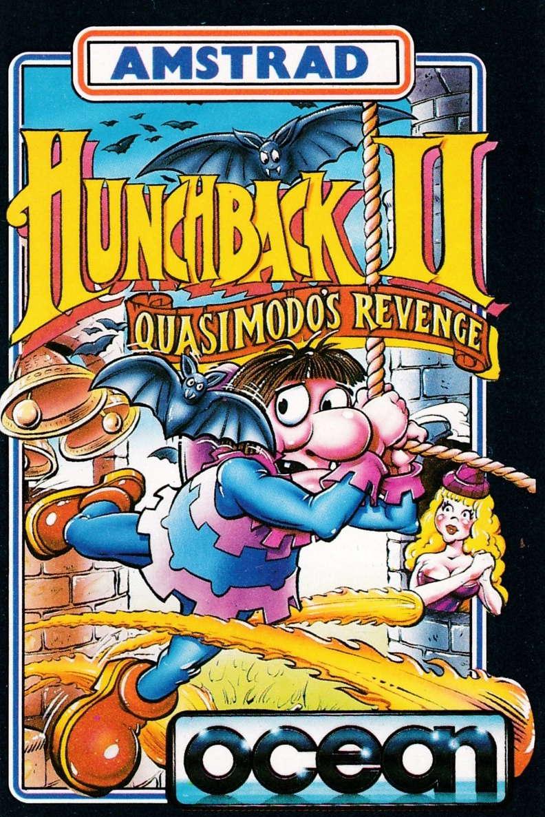 cover of the Amstrad CPC game Hunchback II - Quasimodo's Revenge  by GameBase CPC