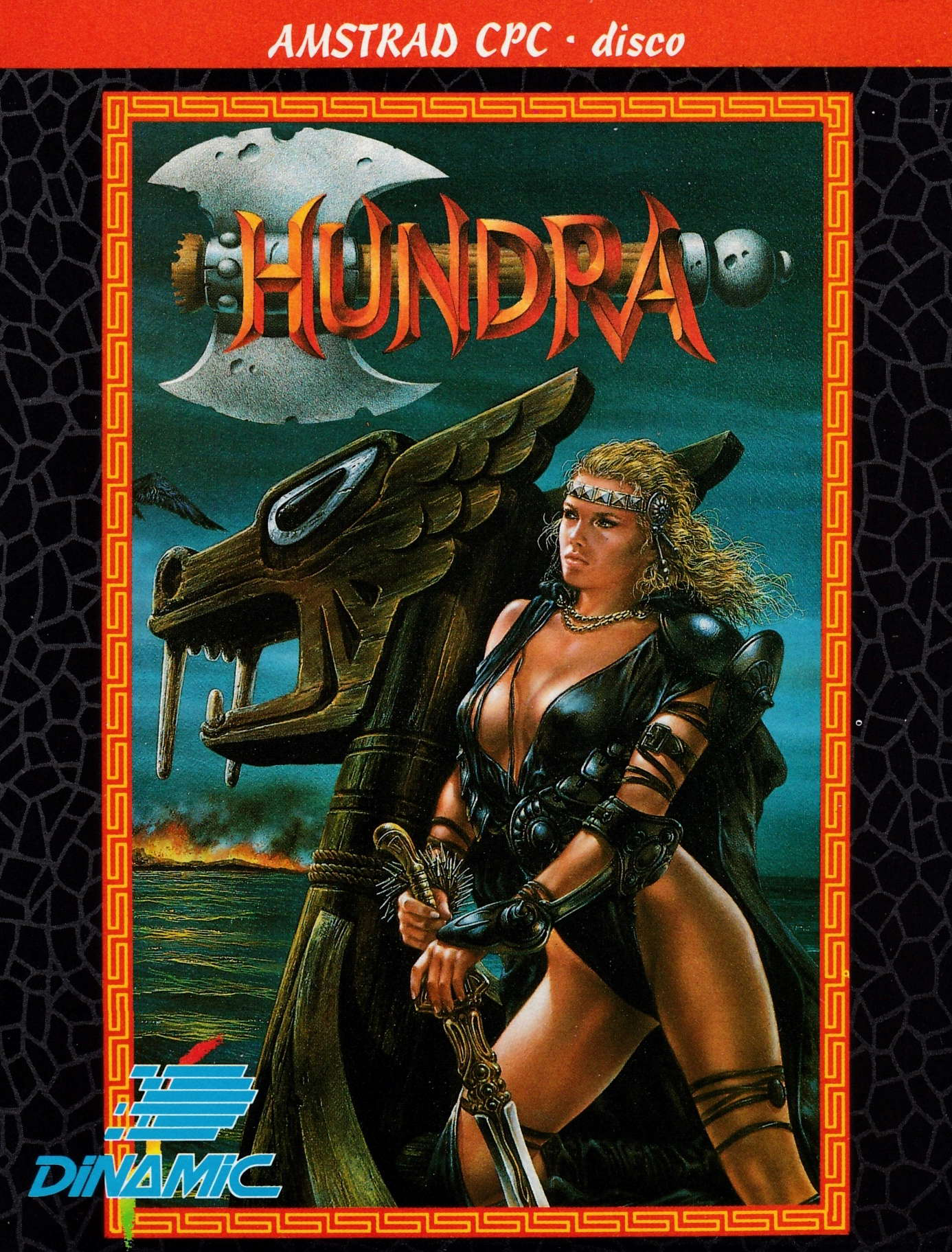 cover of the Amstrad CPC game Hundra  by GameBase CPC