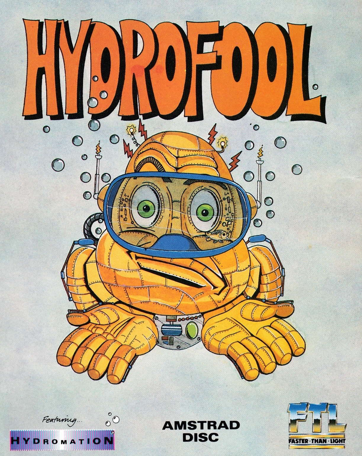 screenshot of the Amstrad CPC game Hydrofool by GameBase CPC