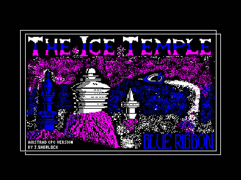 screenshot of the Amstrad CPC game Ice temple (the) by GameBase CPC